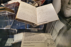 Sir-Charles-Lyell-Bt-Notebooks-Appeal-Celebration-The-Geological-Society-Burlington-House-Piccadilly-London-28th-February-2020-The-Notebooks-on-Display-2