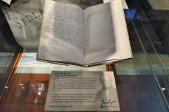 Sir-Charles-Lyell-Bt-Notebooks-Appeal-Celebration-The-Geological-Society-Burlington-House-Piccadilly-London-28th-February-2020-The-Notebooks-on-Display-3