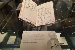 Sir-Charles-Lyell-Bt-Notebooks-Appeal-Celebration-The-Geological-Society-Burlington-House-Piccadilly-London-28th-February-2020-The-Notebooks-on-Display-4