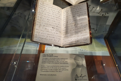 Sir-Charles-Lyell-Bt-Notebooks-Appeal-Celebration-The-Geological-Society-Burlington-House-Piccadilly-London-28th-February-2020-The-Notebooks-on-Display-5