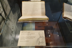 Sir-Charles-Lyell-Bt-Notebooks-Appeal-Celebration-The-Geological-Society-Burlington-House-Piccadilly-London-28th-February-2020-The-Notebooks-on-Display-6